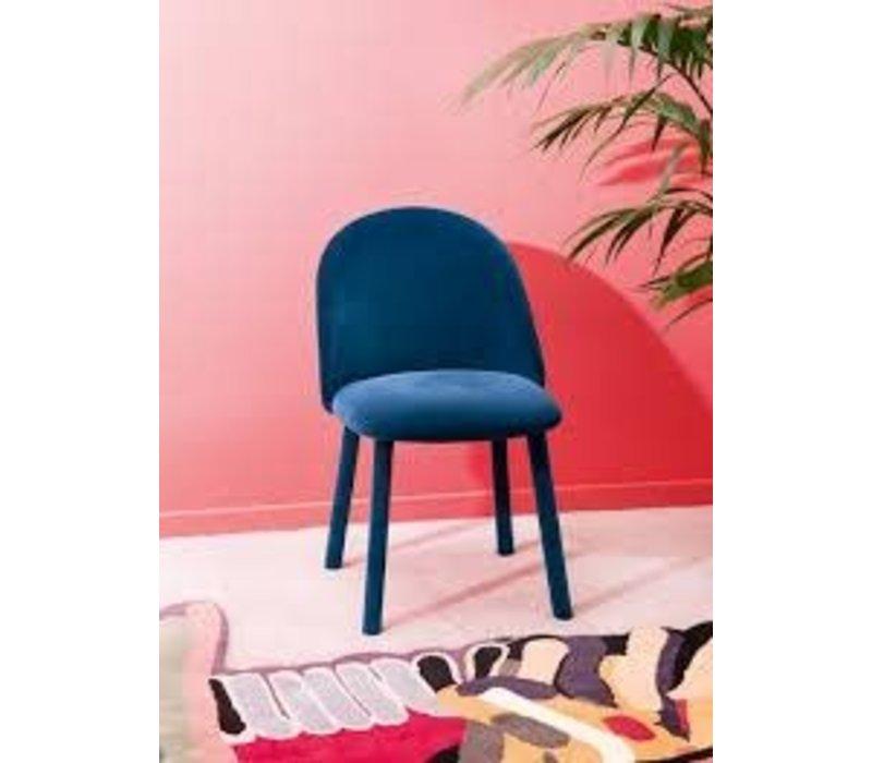 Lola Dining Chair Pink Regal Velvet