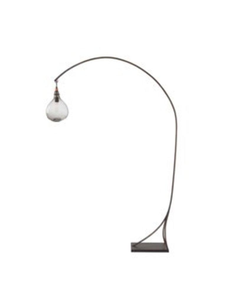 Mantis Floor Lamp w/ Clear Globe