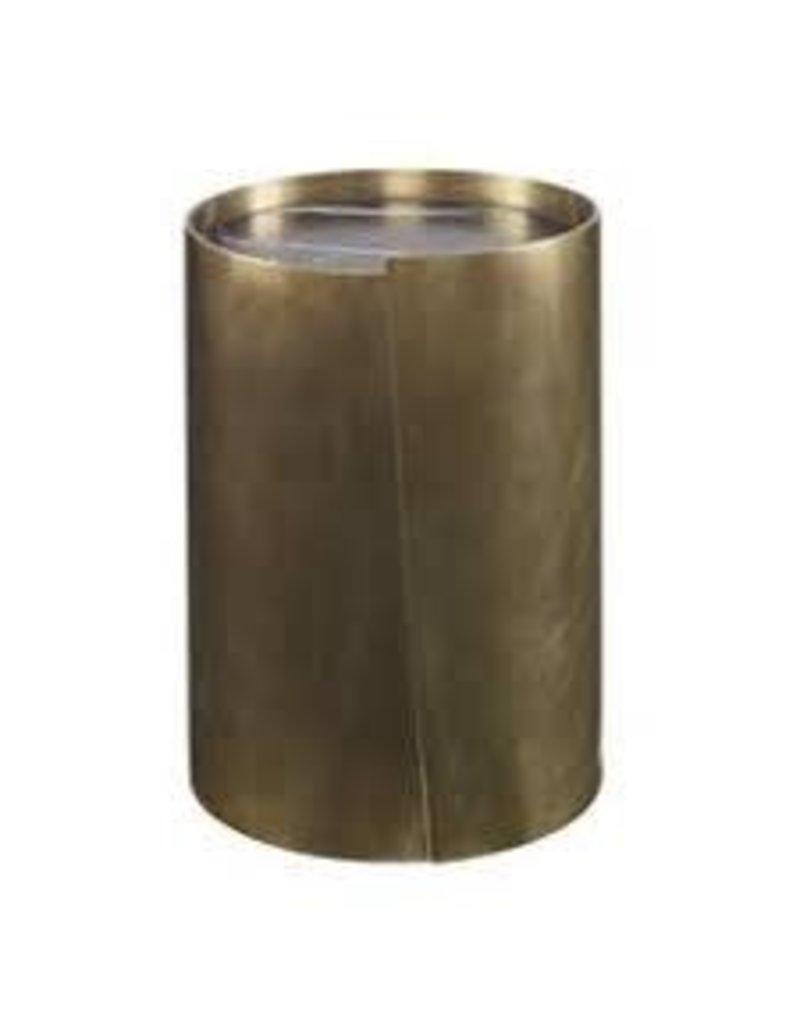 Kelly Wearstler | Alta Side Table Burn Brass With Negro