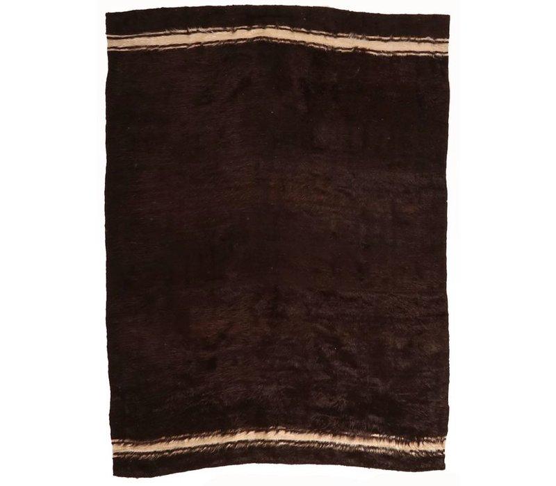 "Amadi AG15043 4'8"" x 6'4"" Brown with cream stripe *CS*"