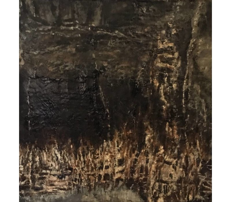 Theresa Stirling | Dark and Sultry Cognac *CS 2' x 2'