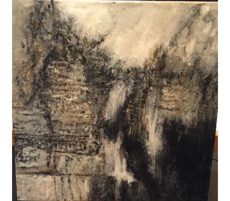 Theresa Stirling | Dark and Sultry Smoke *CS 2' x 2'