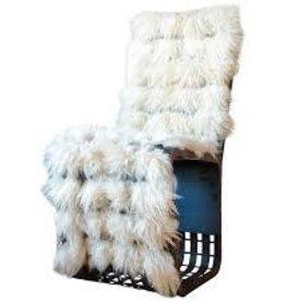 MFGR Fur Chair