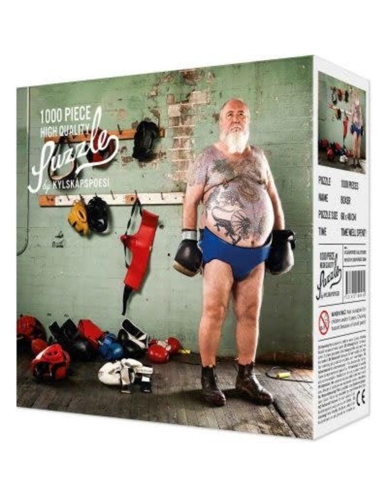 1000 Piece Boxer Tattoo Puzzle
