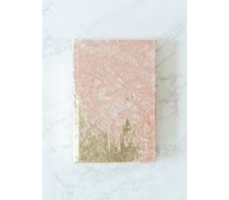 Abstract Daybreak Velvet Journal