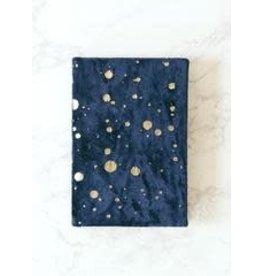 Paint Spatter Sm Velvet Journal