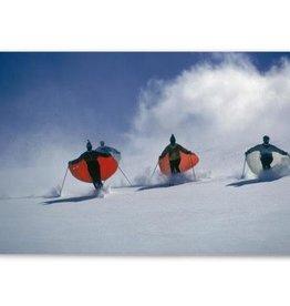 Caped Skiers, Slim Aarons