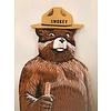 Smokey Bear Hand Painted Cutout *CS