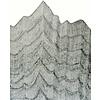 Havoc Handricks   Small Mountain Lines (16x40)