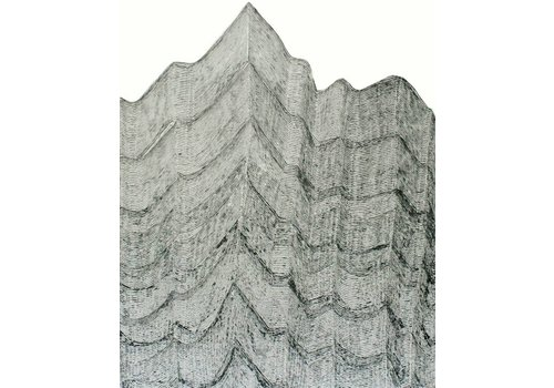 Havoc Handricks | Small Mountain Lines (16x40)