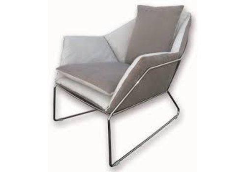 Saba | New York Arm Chair | Black Nickel