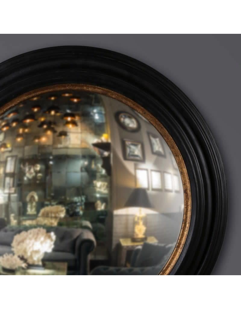 Fish Eye Antique Round Mirror