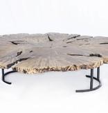 """Acrylic Coffee Table- Double 70"""" x 63"""""""