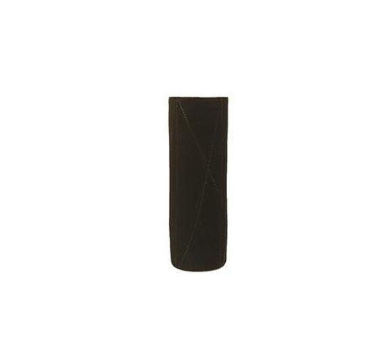 Taroudant Vase, Gun Metal Glaze, Small
