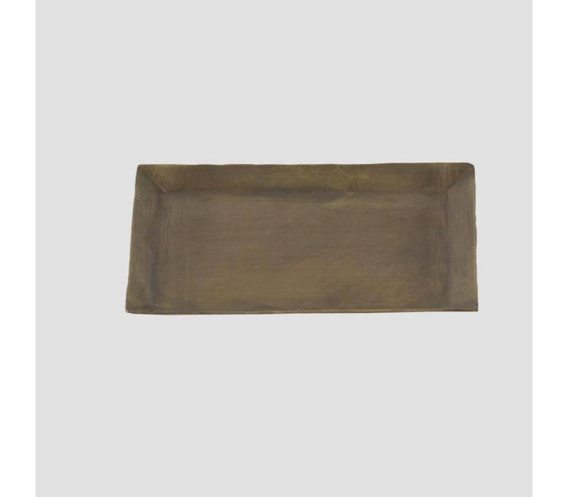 Brass Plate, Rectangle