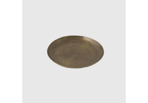 Brass Plate Round, Small
