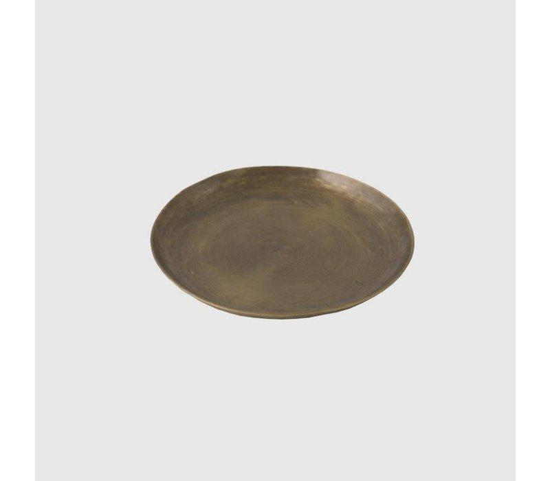 Brass Plate Round, Small