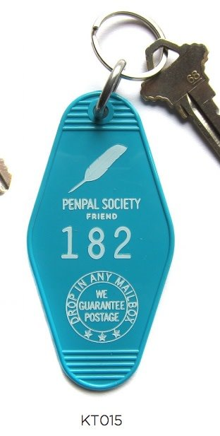 Penpal Key Tag