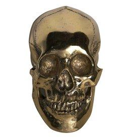 Skull, Brass, Large
