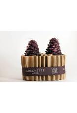 Small Pair Cones, Wine