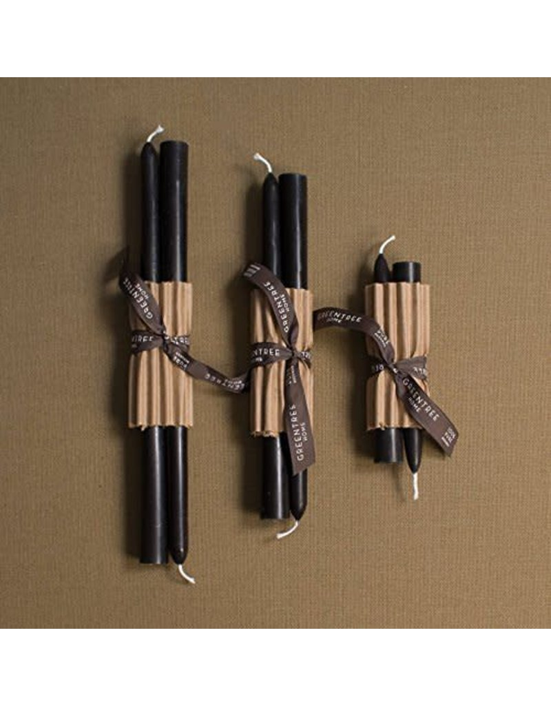 Church Taper, Black, 12''