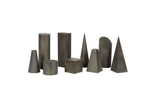 Zinc Charette Cylinder, Small