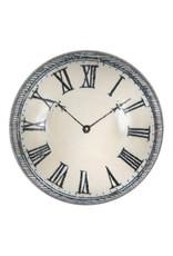 John Derian | Black & White Dome Paperweight, Clock