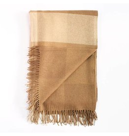 Woven Throw, Camel