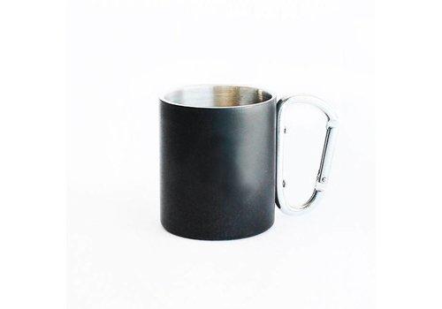 Iron Glory Stainless Mug, Black