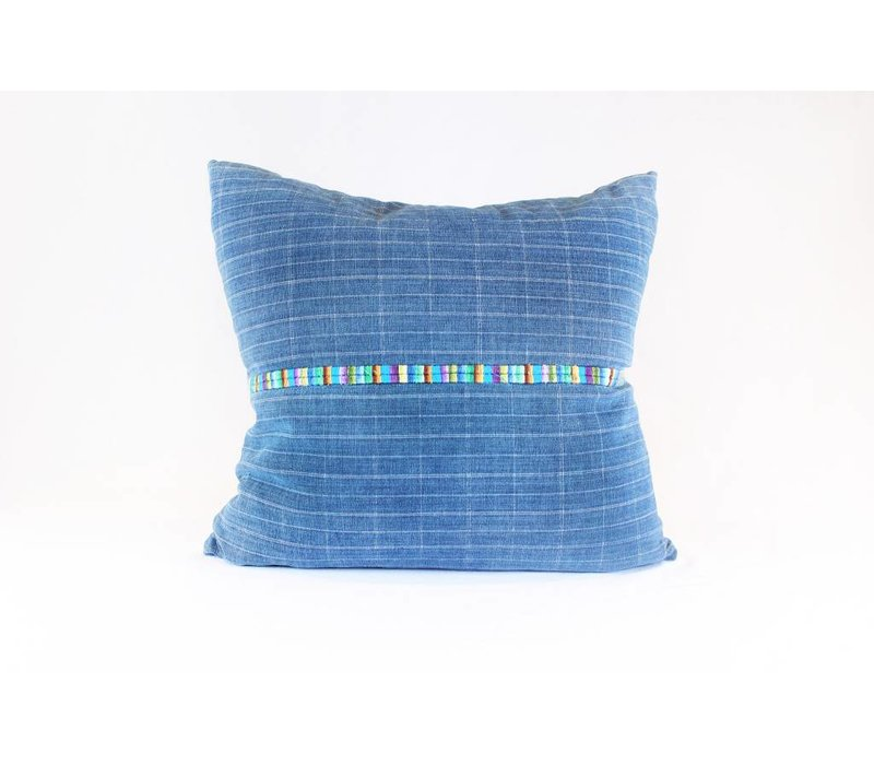 Tribeca Pillow | Blue