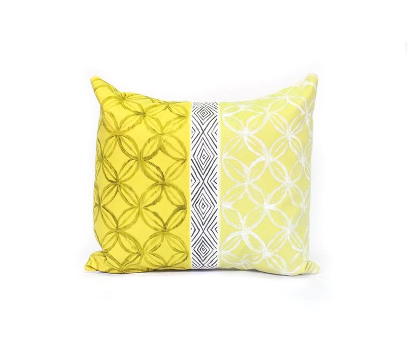 Nice Energy Pillow | Yellow + Black