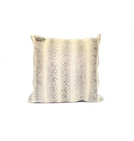 Snake Skin Pillow | Tan