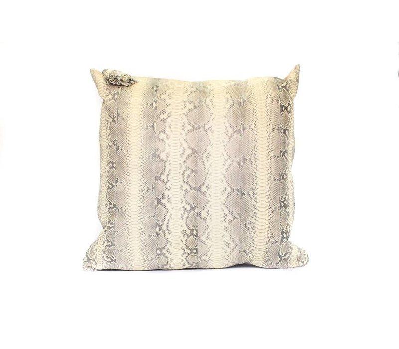 Snake Skin Pillow | Tan