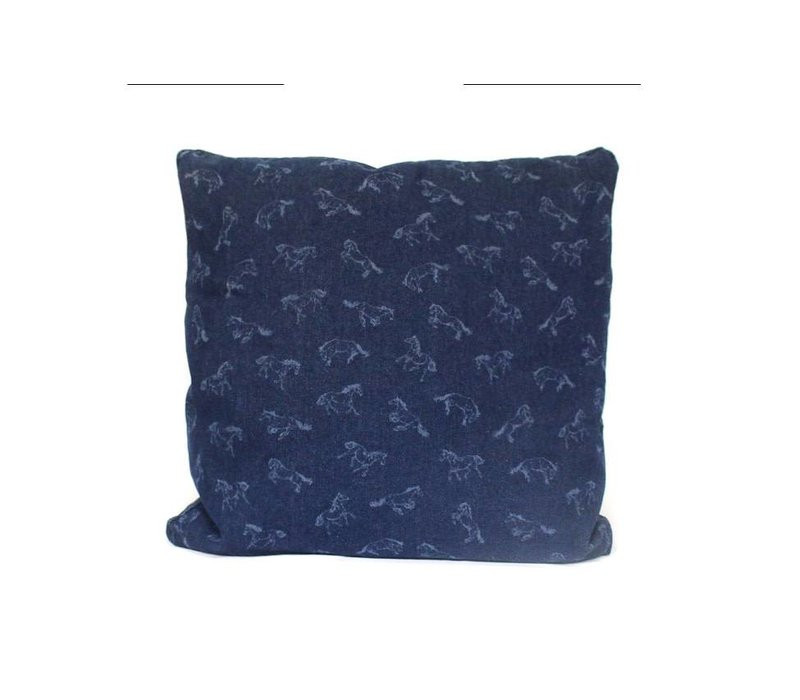 Bronco Pillow |  Blue