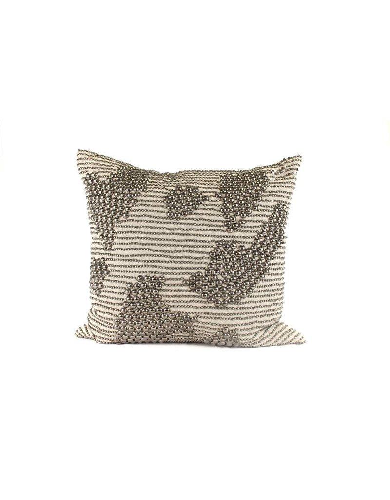 Studs Pillow | Burlap