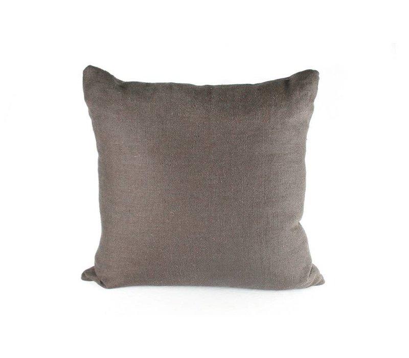 Iris Cafe Pillow   Smoke