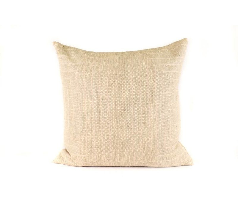 Streams Pillow | Nude