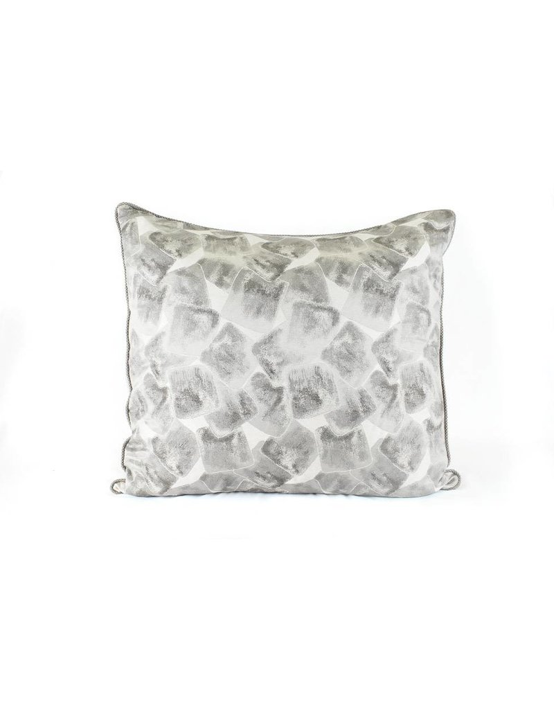 Silver Square Pillow