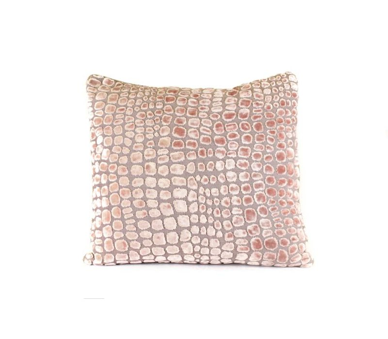 Croco Pillow   Rose
