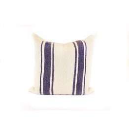 Big Sky Pillow | Cream + Indigo