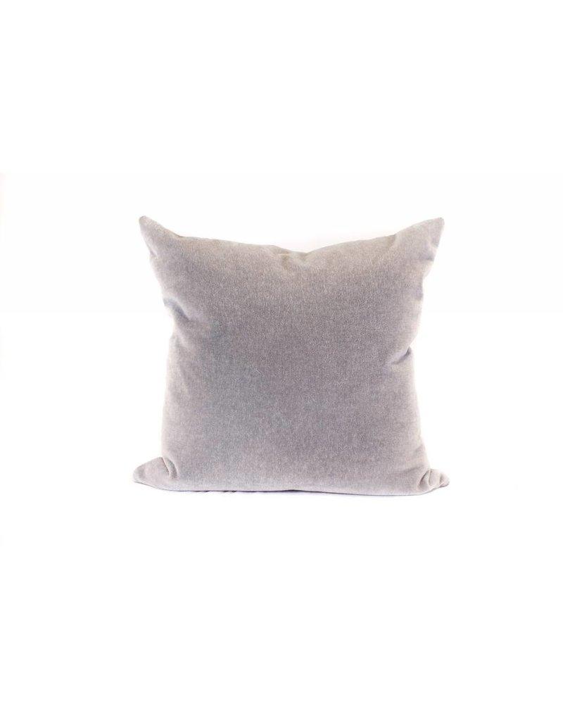 Mohair Pillow   Pewter
