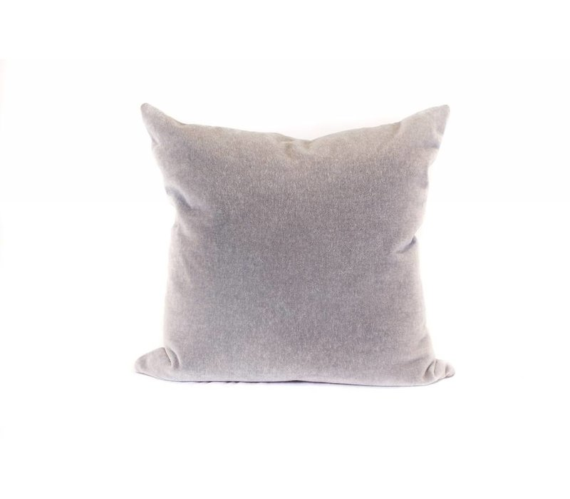 Mohair Pillow | Pewter