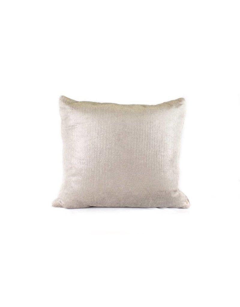 Herringbone Pillow | Silver