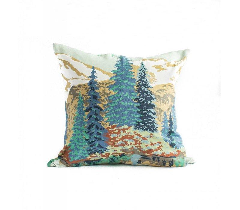 Mountain Scene Epicea Pillow Cover 20 x 20