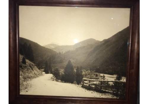 Vintage photography - Gallatin Canyon