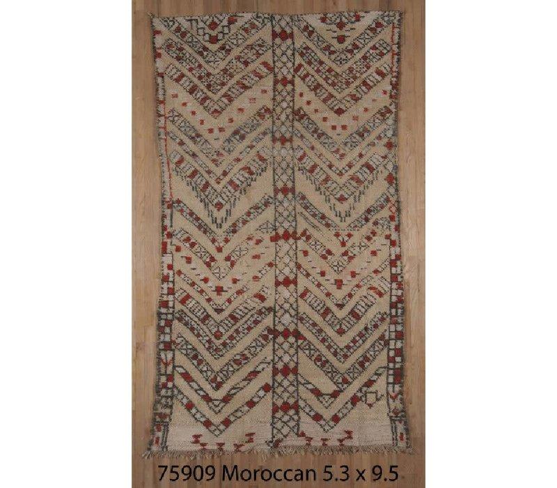 "Moroccan 5'3"" x 9'5"" 075909 *CS*"