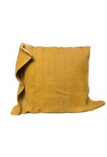 Katar Cushion | Mustard With Insert | 25 x 25