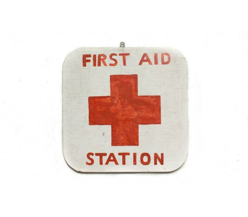 First Aid Station Sign *CS