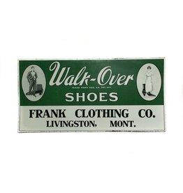 Walk On Over Tin Sign *CS