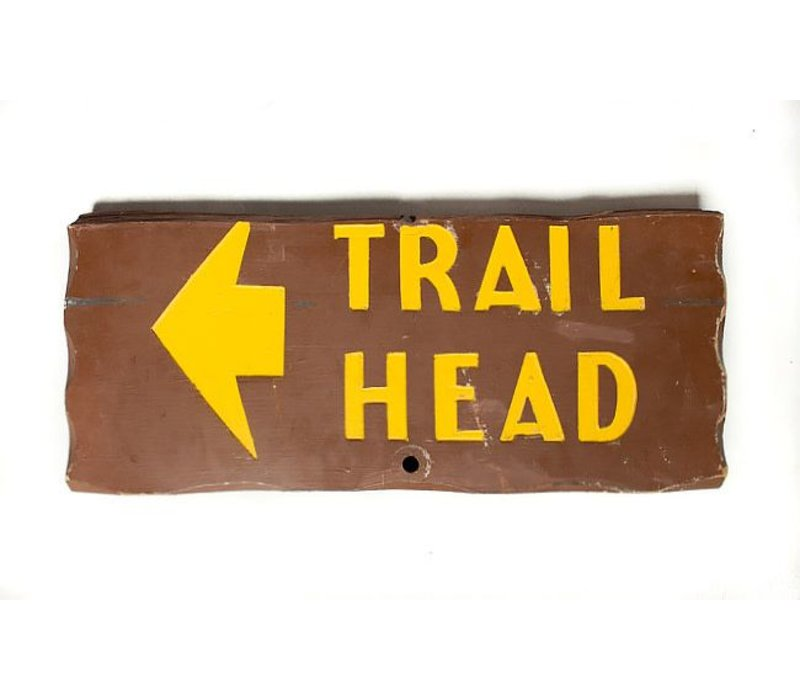 Yellowstone Trailhead Sign *CS